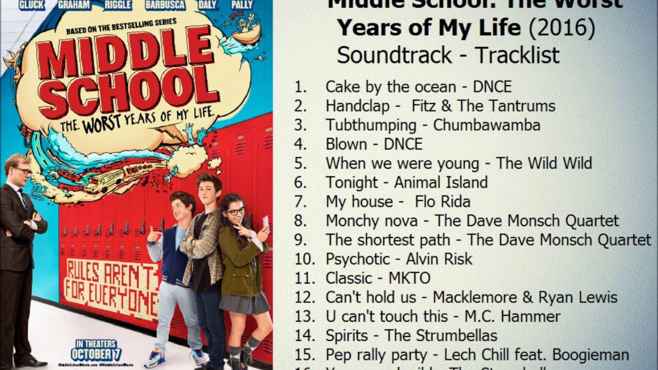 Soundtrack! FINALLY, I found it! Middle school, Of my