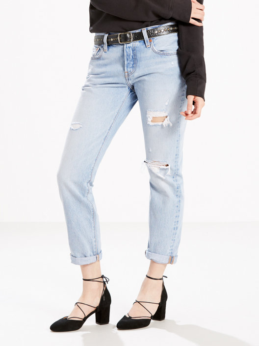 great look preview of new concept 501® Taper Women's Jeans - Light Wash   Levi's® US   Tapered jeans ...