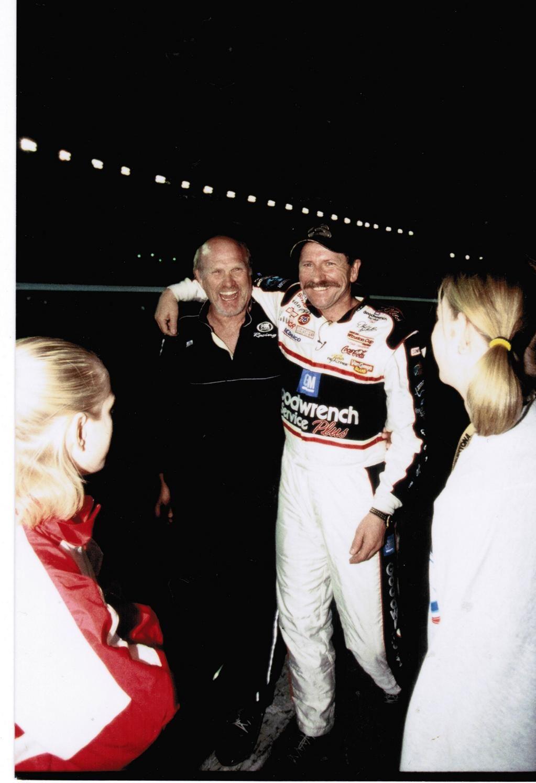 Terry Bradshaw on Dale earnhardt, Nascar racing, Dale