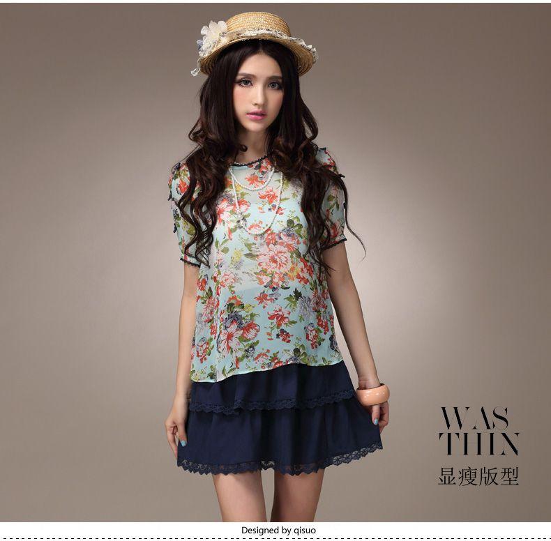 a929ad81470 2013 Summer Fashion Collection Dress 1719 - korean japan fashion clothes  dresses wholesale women
