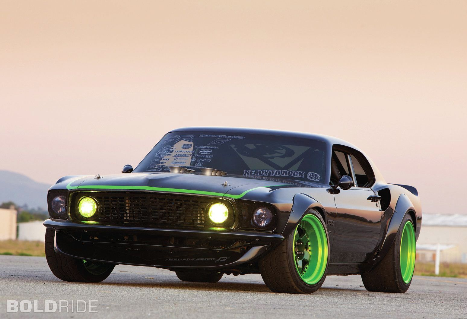 1969 Ford Mustang Rtr X Slideways In Brief Ford Mustang Mustang