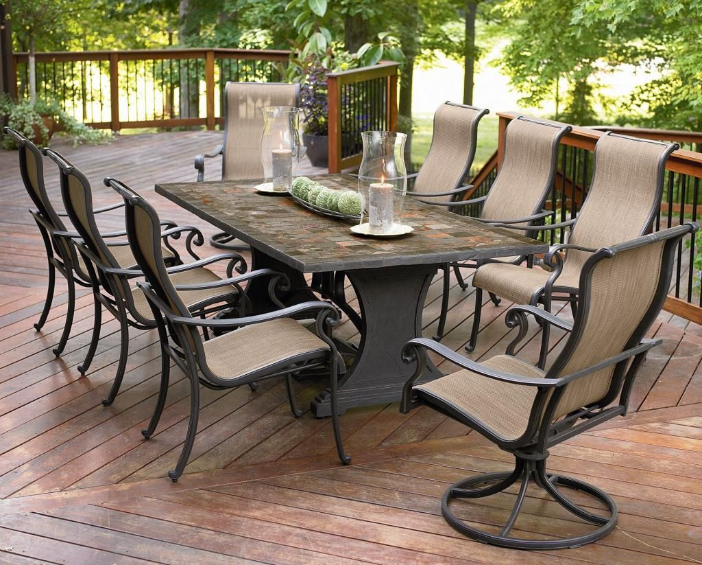 agio patio furniture tips on getting quality furniture outdoor all rh pinterest com 8 chair patio dining set Swivel Chair Patio Sets