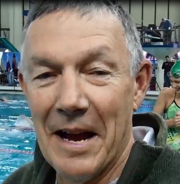 Mark Schubert on the Deck at 2012 CA/NV Winter Sectionals