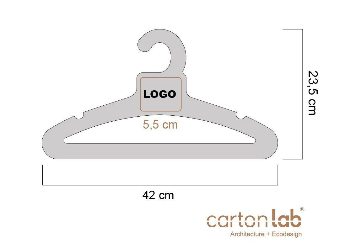 Pin De Pearl Decor En Clothes Hangers Pinterest Decoraci N ~ Perchas Personalizadas Para Tiendas
