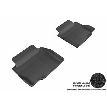 3d Maxpider 2006 2013 Chevrolet Impala Second Row All Weather Floor Liners In Black Carpet Chevrolet Impala Impala Black Carpet