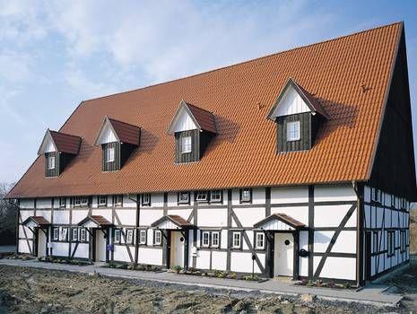 Amazing Saniertes #Fachwerk   #Haus Mit Roten Dachsteinen.