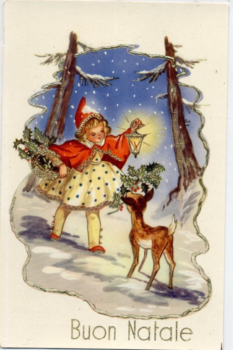Italian postcard c1930 ebay christmas vintage remembering italian postcard c1930 ebay kristyandbryce Images