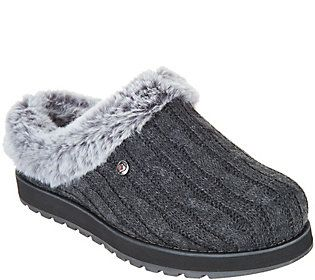 skechers slippers qvc