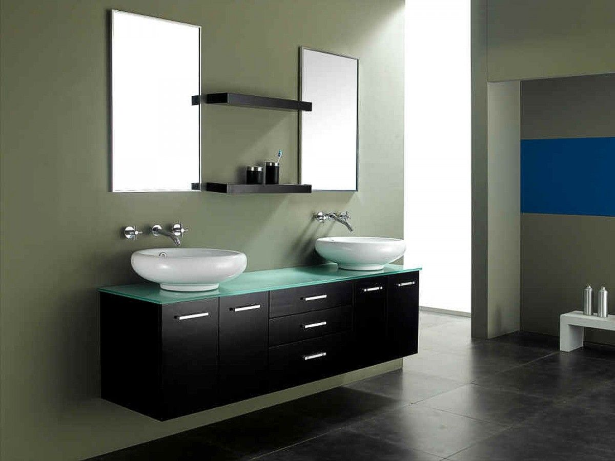 Counter Top Wash Basin Cabinet Designs Google Search Modern