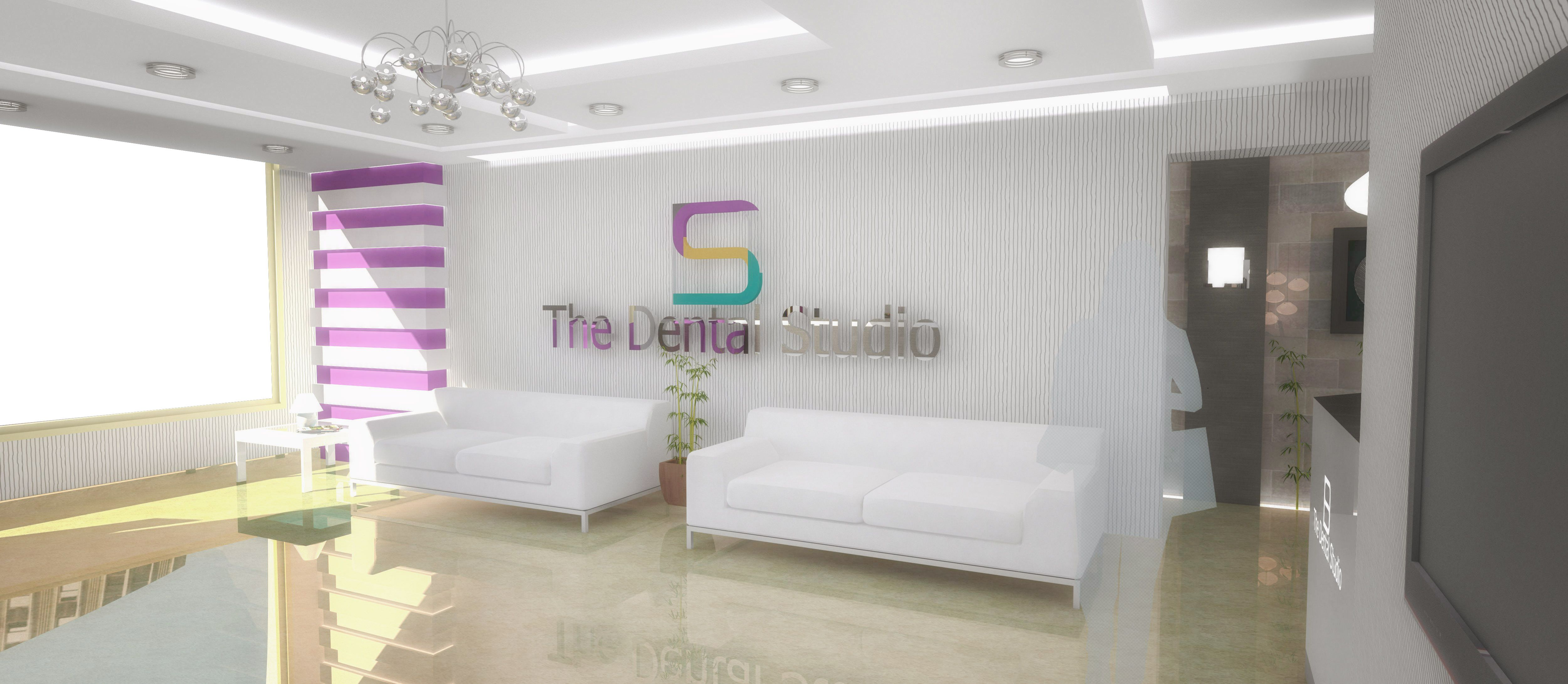 contemporary clinic decor interior design for dental clinic maadi