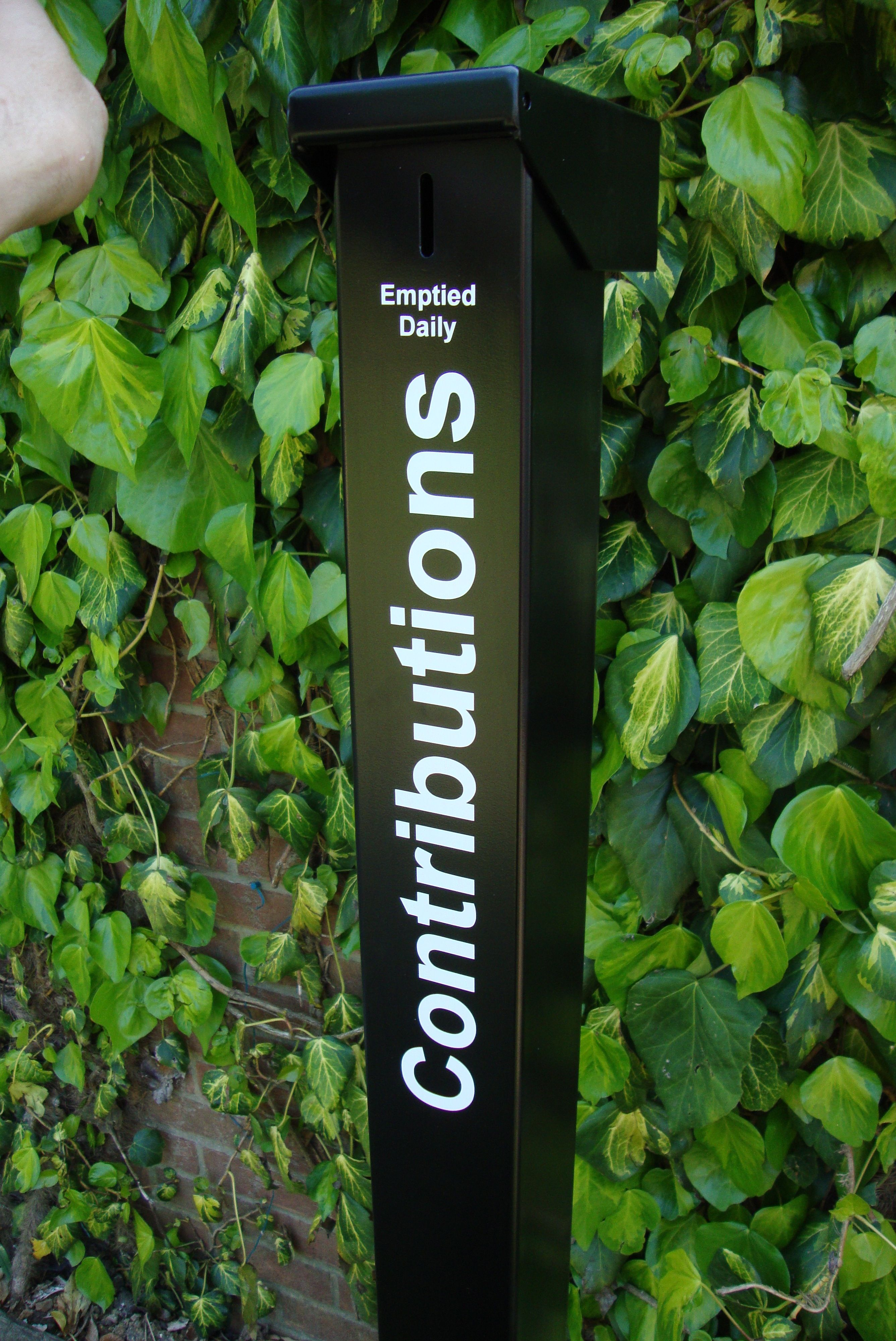 Outdoor Donation Boxes
