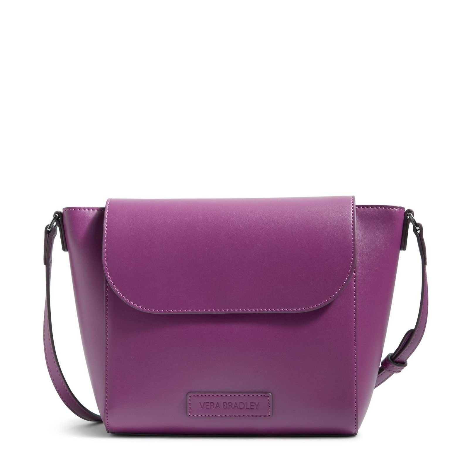 794eede813 Vera Bradley Faux Leather Flap Crossbody Bag