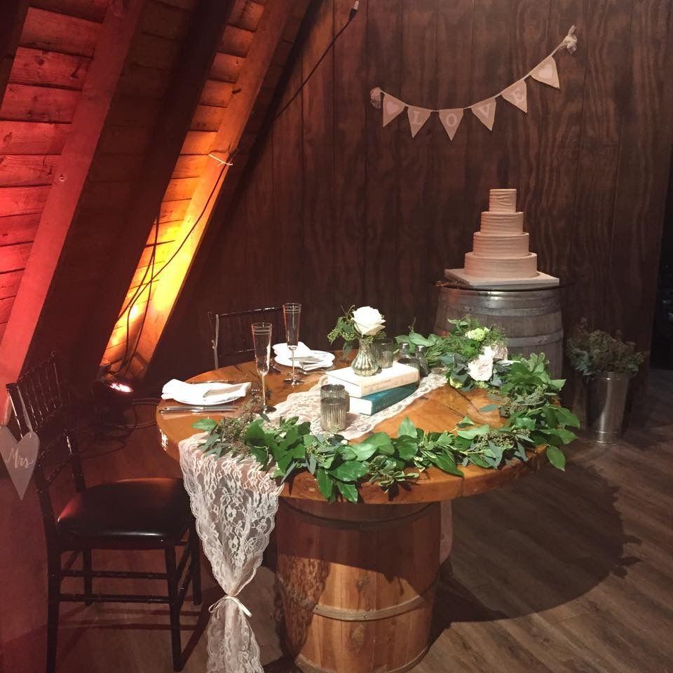 Sweetheart Table At Perona Farms