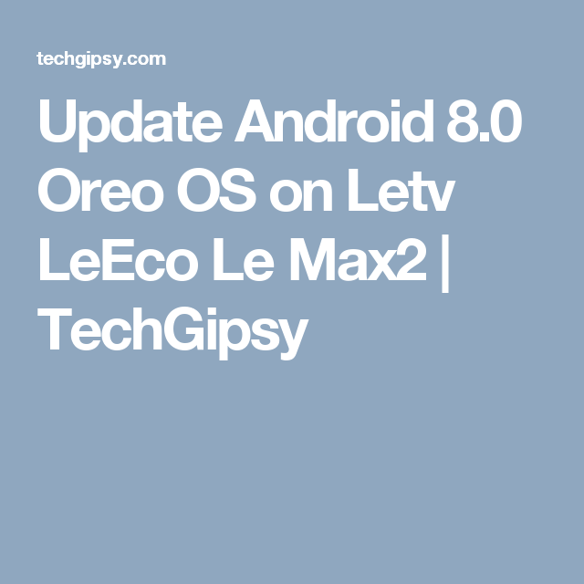 Letv Official Update