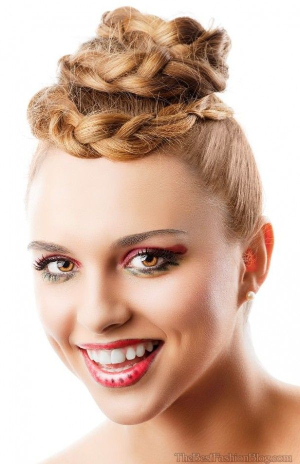 2015 Braided Hairstyles For Shoulder Length Hair | Medium length hair styles, Hair lengths ...