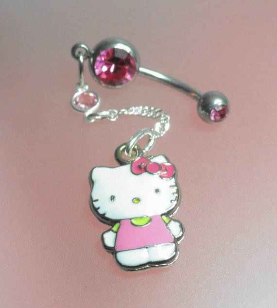 Hello Kitty Belly Button Ring Hello Kitty Frenzy In 2019 Hello