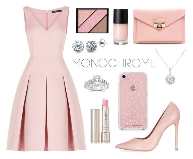 Monochrome Nude Pink By Josiecwatkins  E D A Liked On Polyvore Featuring Bcbgmaxazria Elizabeth Arden Topshop Berricle Ewa Bliss Diamond By Terry And