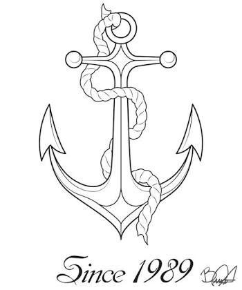Resultado De Imagem Para Ancora Tattoo Desenho Ancora Desenho