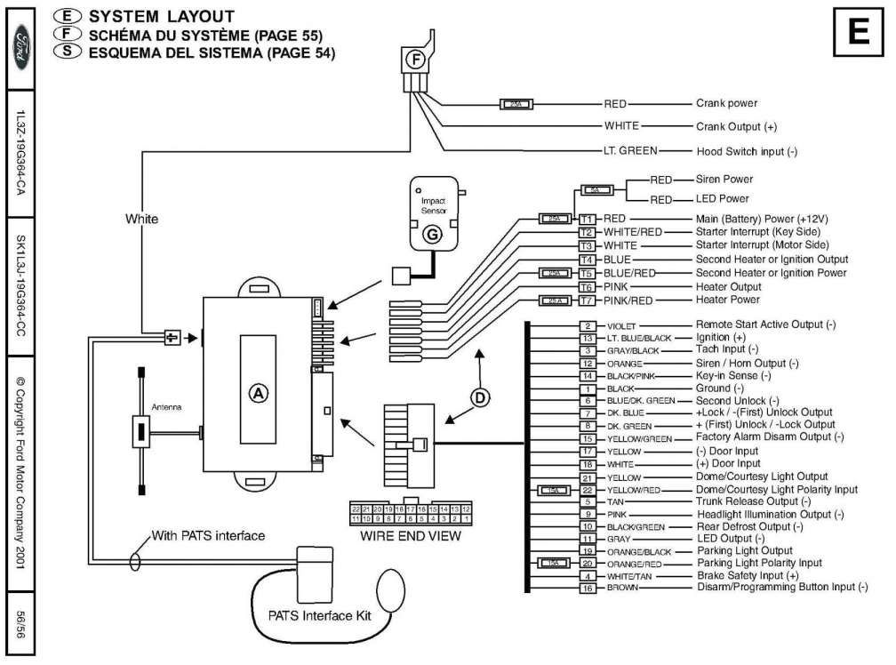 free car alarm wiring diagram  amc jeep 304 alternator