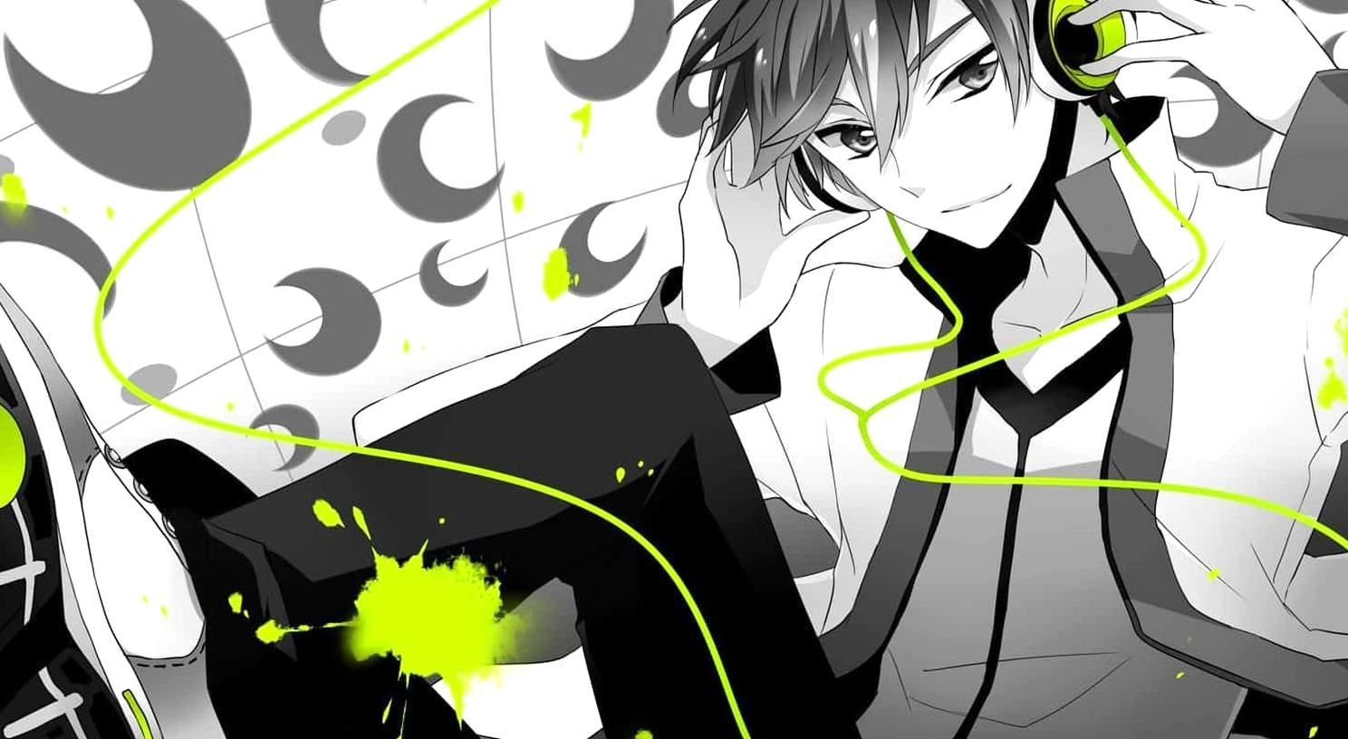 Cool Collections Of Anime Boy Wallpaper For Desktop Laptop And Mobiles Find More Wallpaper For Your High Hvga 720p Anime Music Anime Anime Boy With Headphones