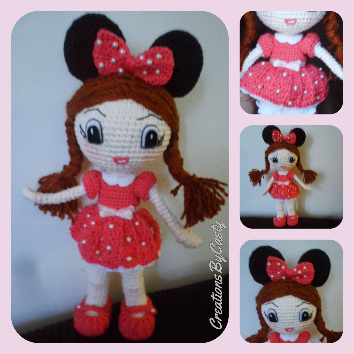 Minnie mouse doll igurumi crochet by creationsofcasty on etsy minnie mouse doll igurumi crochet by creationsofcasty on etsy bankloansurffo Choice Image