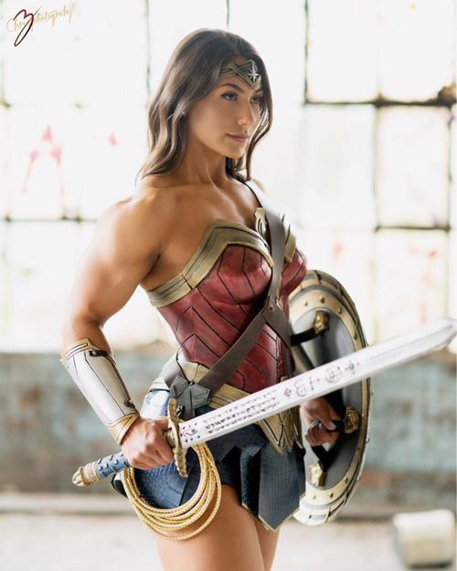 from Jacob girls with muscle cosplay