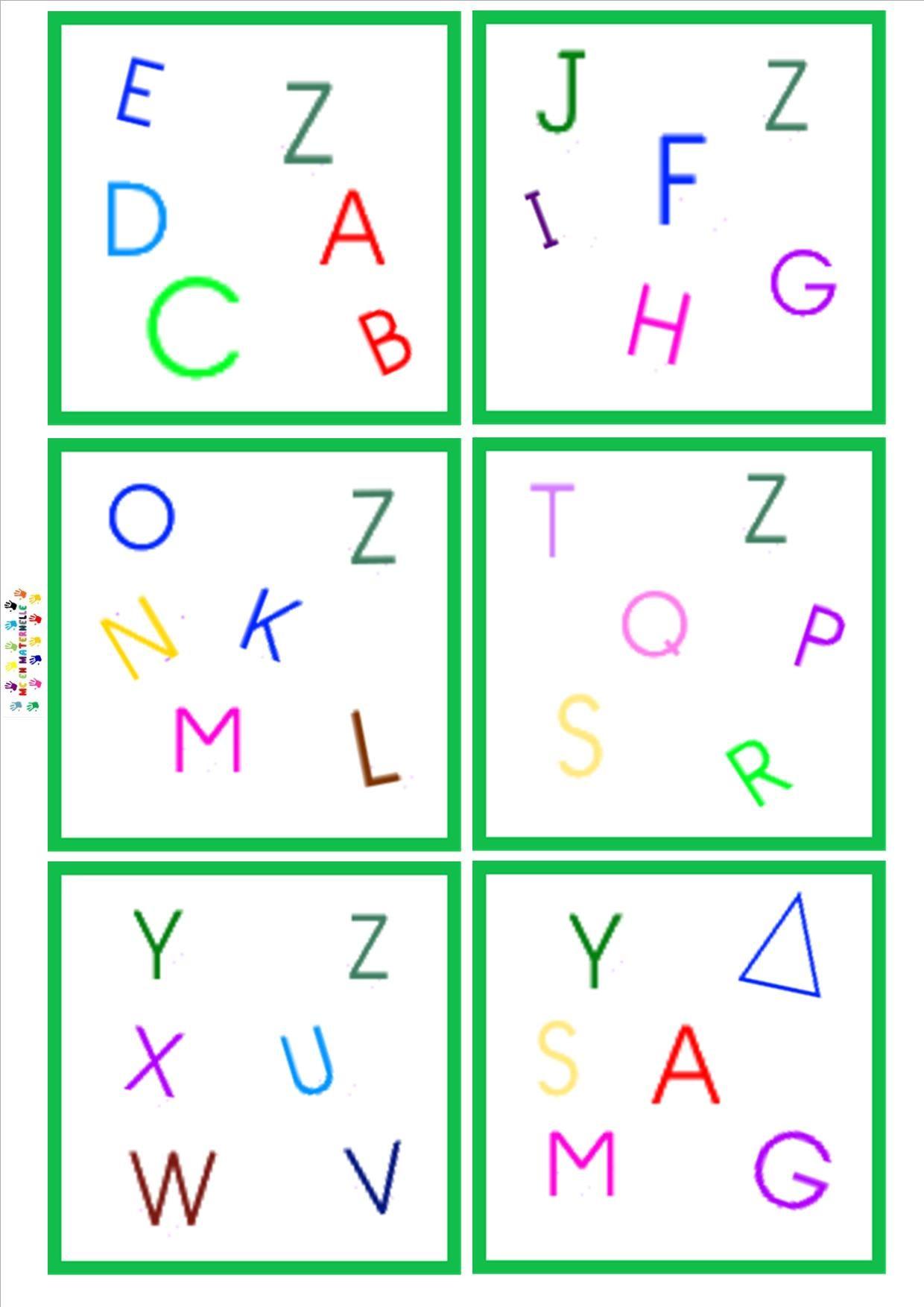 Pin de Anne avec 10 doigts en Alphabet   Pinterest