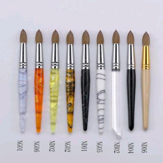 Acrylic Nail Brushes Nail Insight Nail Acrylic Nail Brush Unas