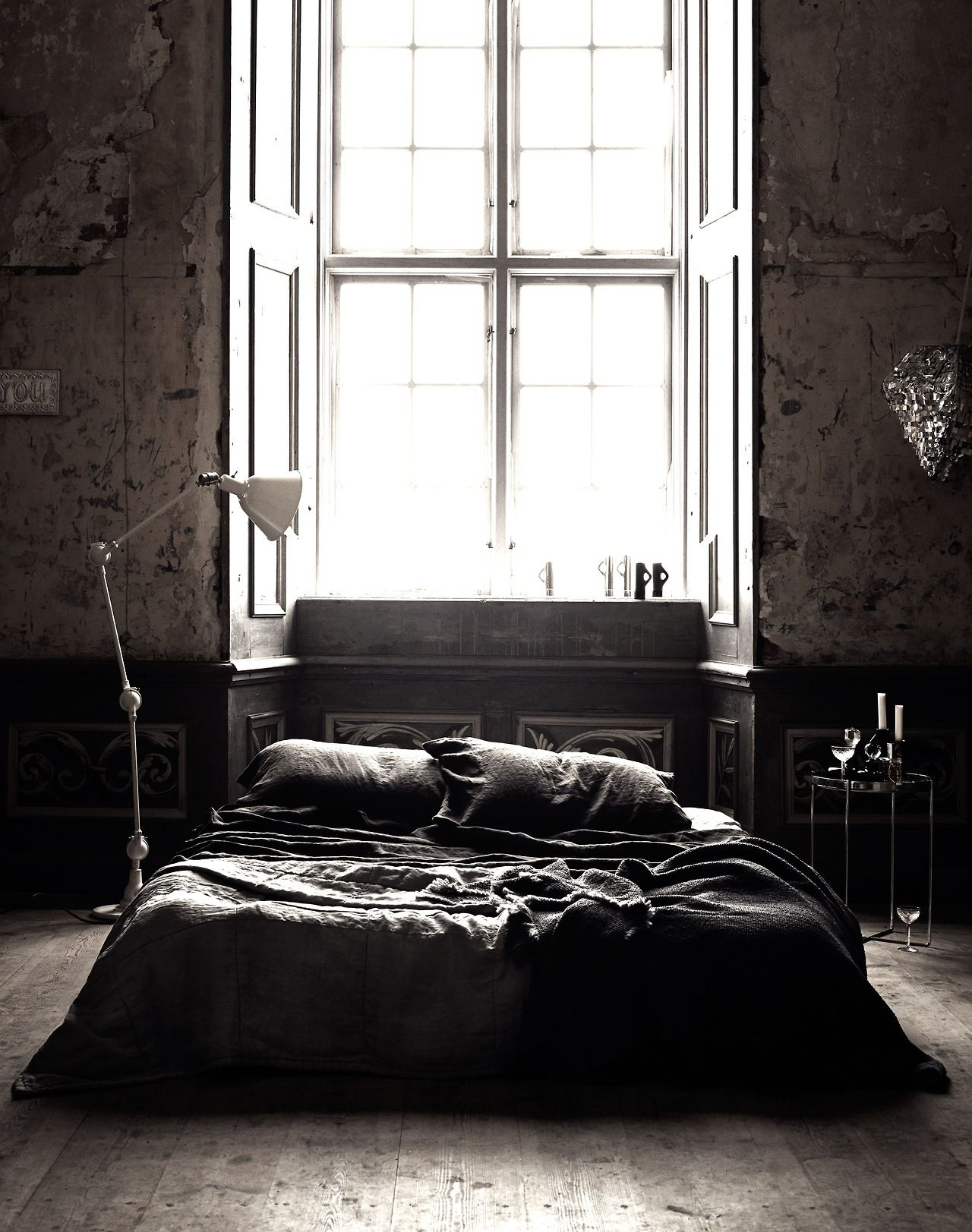 cjwho black luxury bedroom by lotta agaton