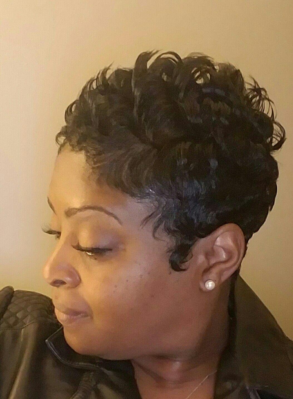 Short hairstyles for black women hairstyles pinterest short