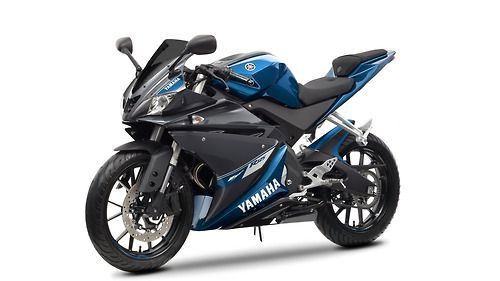 Yamaha R125 Motorrad Rad Facelifting