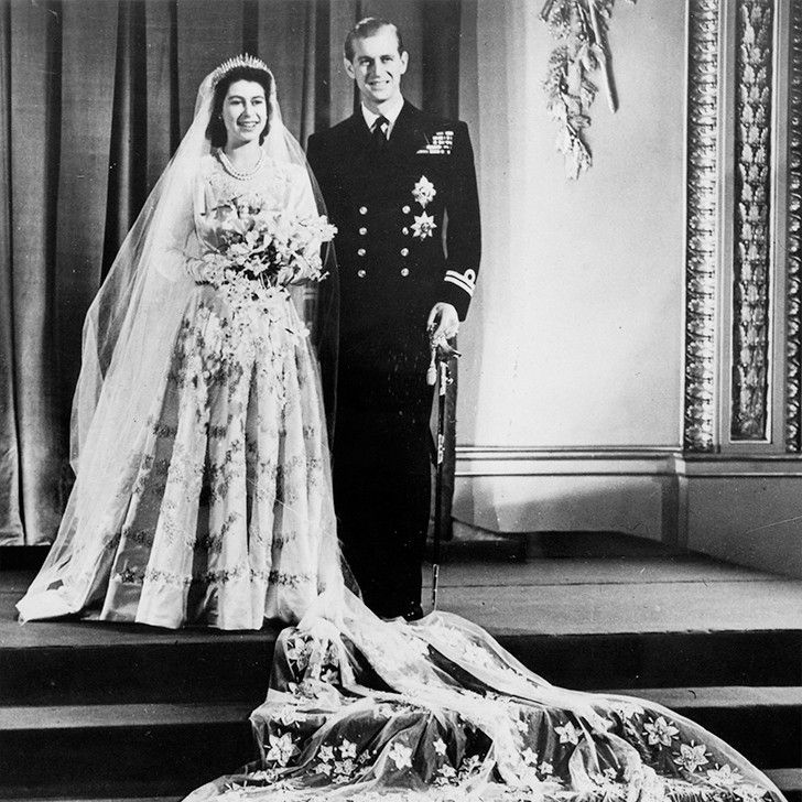 On November 20, 1947, Princess Elizabeth married Prince