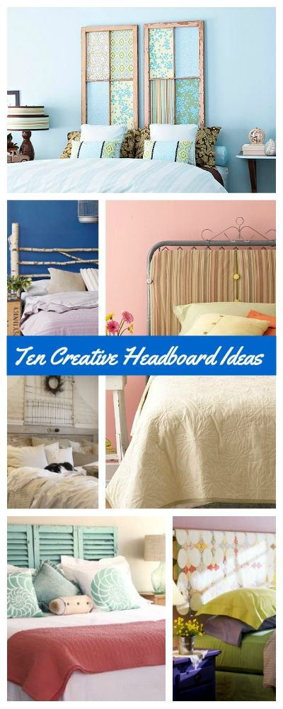 Ten creative headboard ideas for frugal decorators tbd - Make your own headboard ...