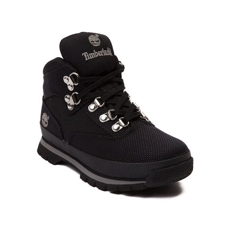 Shop For Tween Timberland Euro Hiker Boot In Black At