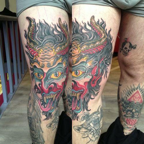 Atlas Tattoo Portland Oregon: Tattoo By: Jacob Redmond Of Atlas Tattoo 4543 N. Albina