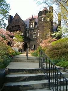 Old Five Oaks Mansion in Massillon, where I was Married. Beautiful inside