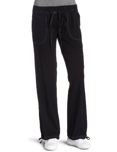 d05c7956e200c Avani Women's Woven Pant, Black, X-Small Avani. $54.00. Light weight  fabric. 4-way stretch for total comfort. 31 inches inseam with ties at the  hem.