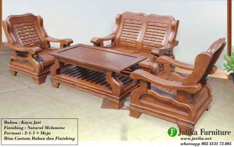 Jual Kursi Tamu Minimalis Gajah Kayu Jati Solid Jatika Furniture Sarjana Mebel Jatika Furniture Kursi Kayu Furniture