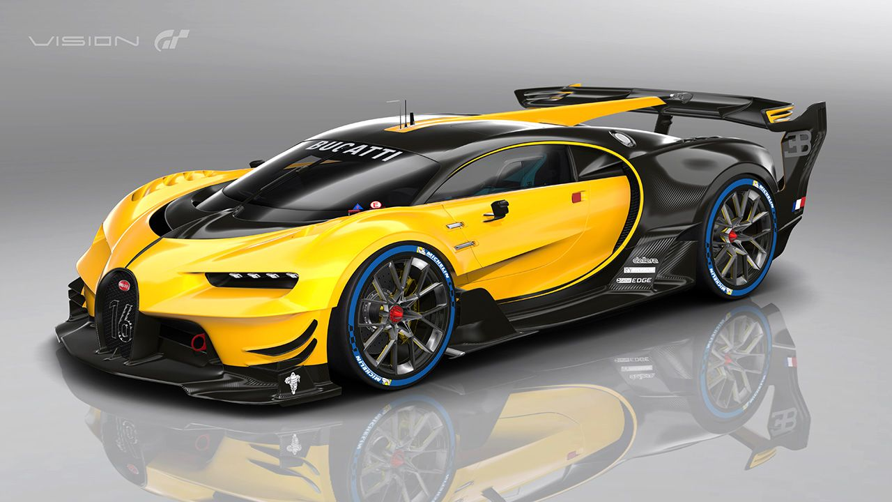 Bugatti Vision Gt >> Real Life Bugatti Vision Gran Turismo Car Bugatti Cars