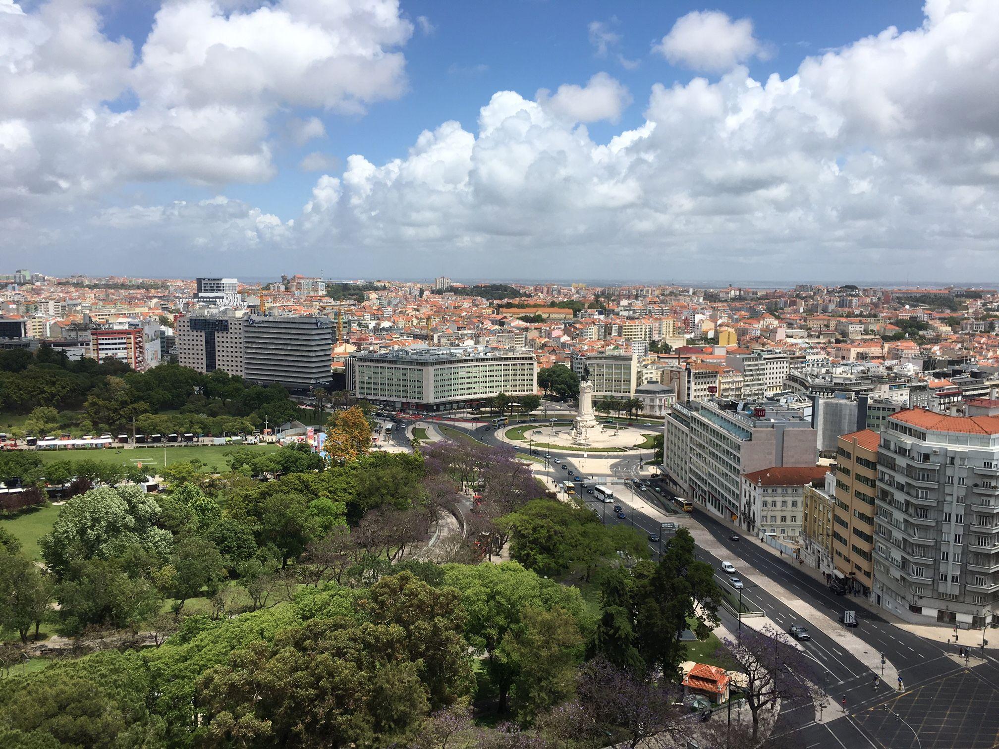 Vista do quarto - Four Seasons Hotel Ritz Lisbon