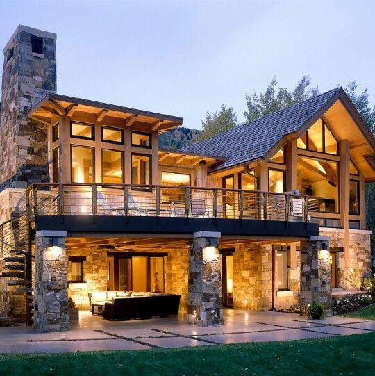 Luxury Lake Home Designs: Pin By Terri Faucett On Lake House / Mountain Cabin In