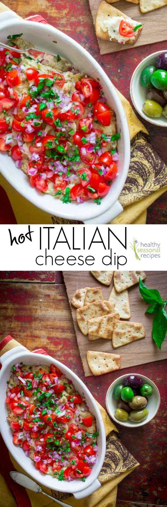 hot italian cheese dip  -  #Cheese #Dip #Hot #Italian #italianCheeseSoup