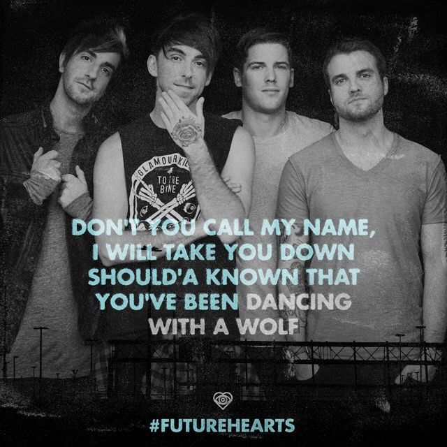 DANCING WITH A WOLF Chords - All Time Low | E-Chords