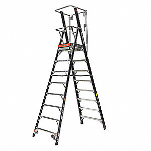 Little Giant Fiberglass Platform Stepladder 10 Ft 6 Ladder Height 8 Ft Platform Height 375 Lb 53dd24 Ladder Little Giants Restoration Hardware Bedding