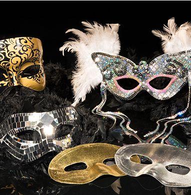 new years eve masks boas