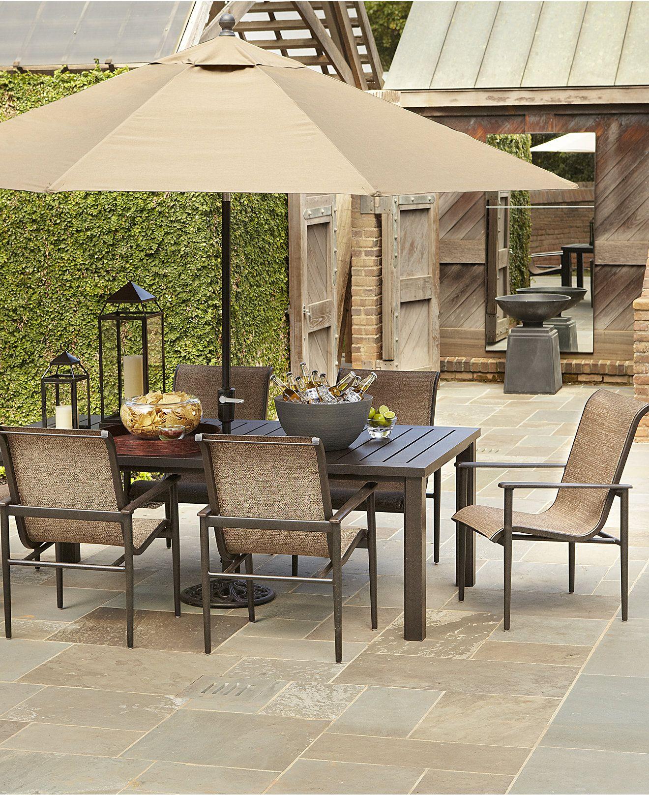 Badgley Outdoor Patio Furniture Dining Sets & Pieces 84