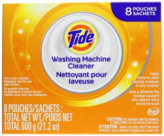 Tide Washing Machine Cleaner 8 Sachets 21 2oz Laundry