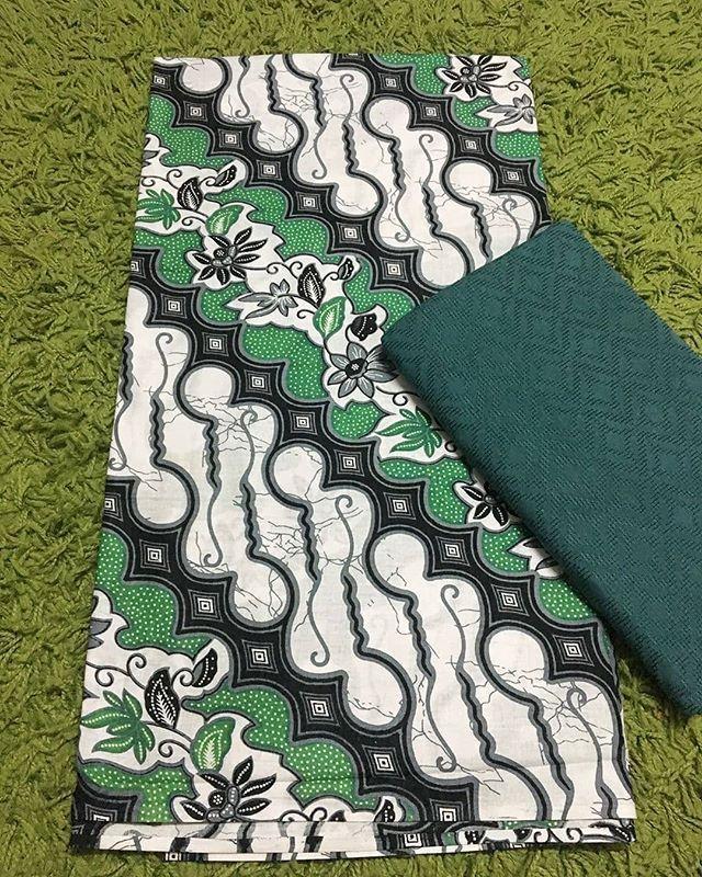 Indonesian Batik Keris Fabric