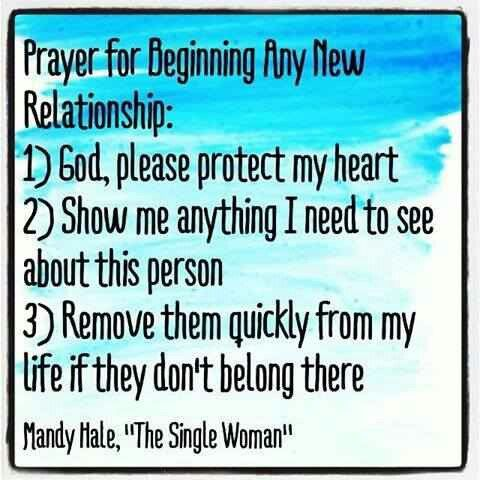 Relationship Prayer | New relationship quotes