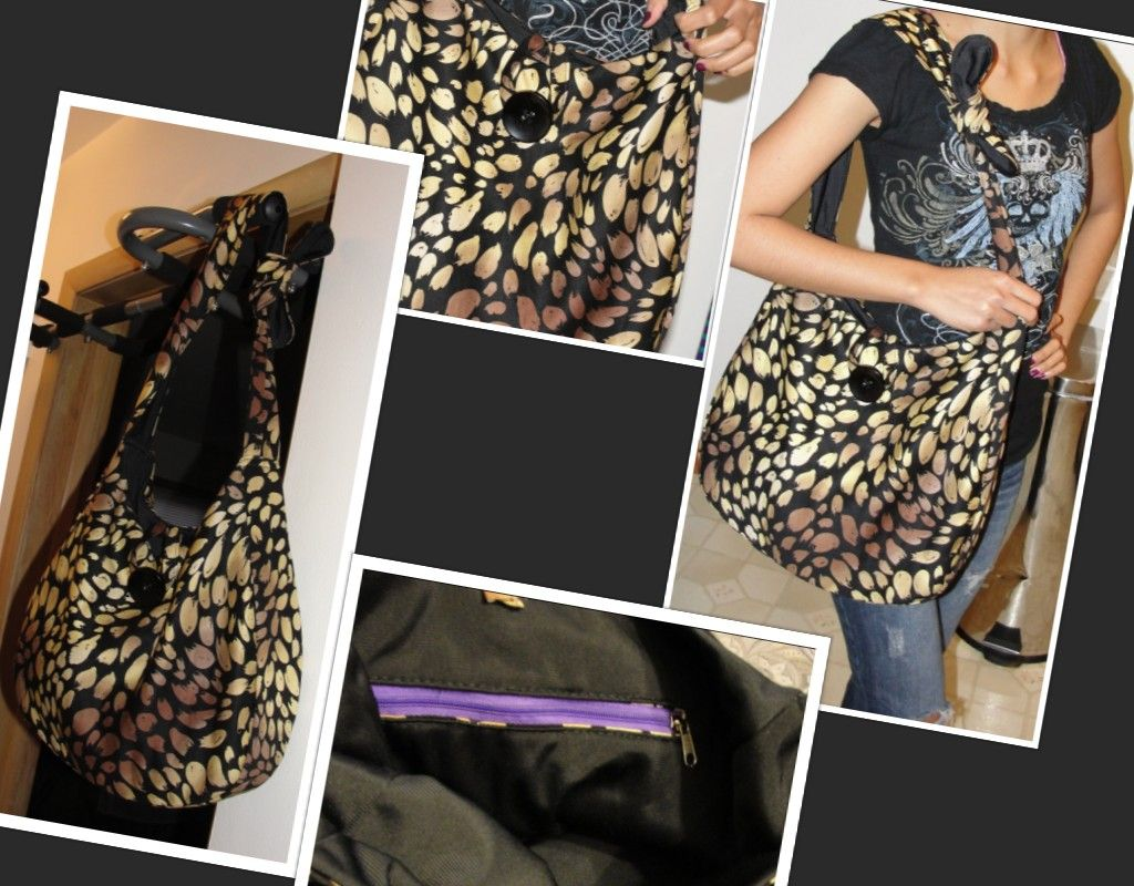 DIY Hobo Bag! Made mine a little different. But here is the ...